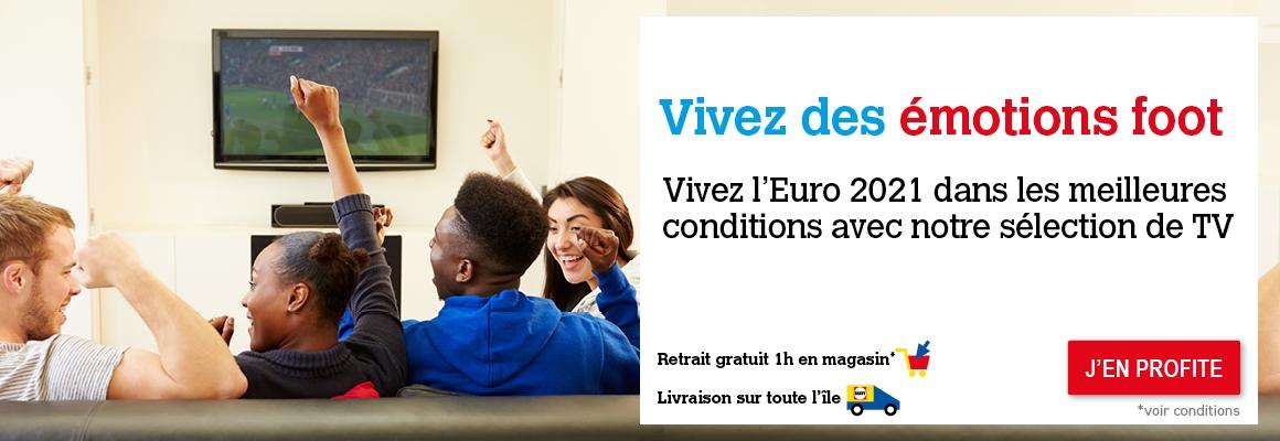 Découvrez notre sélection de TV pour l'Euro 2021