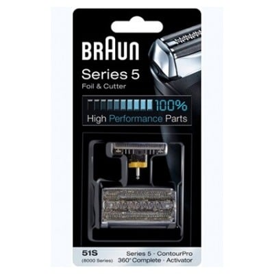 Braun GRILLE + BLOC COUTEAUX 51S COMBI-PACK