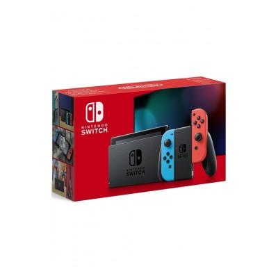 Nintendo Console Nintendo Switch + Joy Con Bleu et Rouge