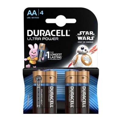 Duracell DURACELL ULTRA POWER AA X4 STAR WARS