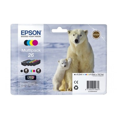 Epson T2616 OURS POLAIRE 4 COULEURS
