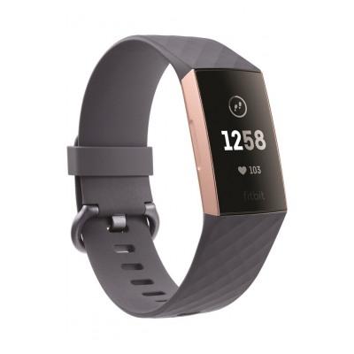 Fitbit CHARGE 3 BLEU ARGENT