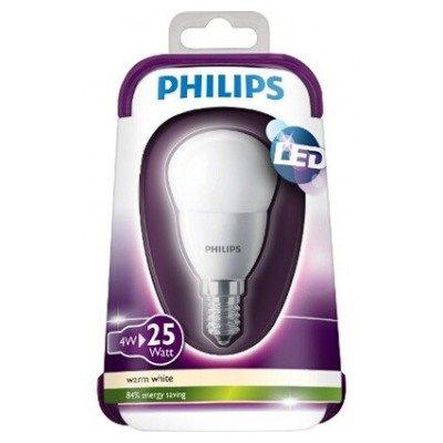 Philips SPHERIQUE - 4W (25W) - CULOT E14