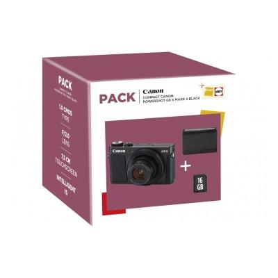 Canon G9X MKII + ETUI + 16GO