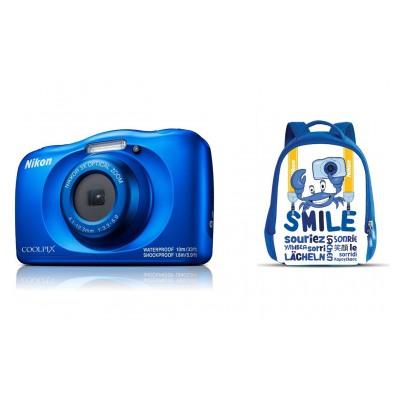 Nikon COOLPIX W150 BLEU + SAC