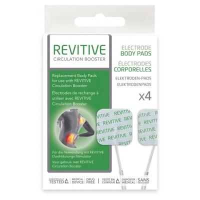 Actegy 4 Electrodes Corporelles - Accessoires pour Stimulateur Circulatoire