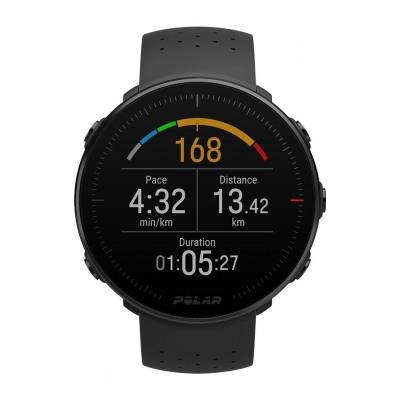 Polar Vantage M Noir M/L GPS Multisport avec cardio au poignet