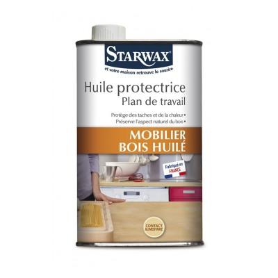 Starwax HUILE PROTECTRICE PLAN DE TRAVAIL BOIS 500ML