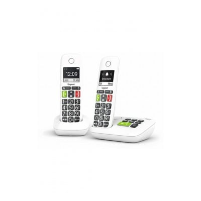 Gigaset E200A DUO BLANC GROSSES TOUCHES