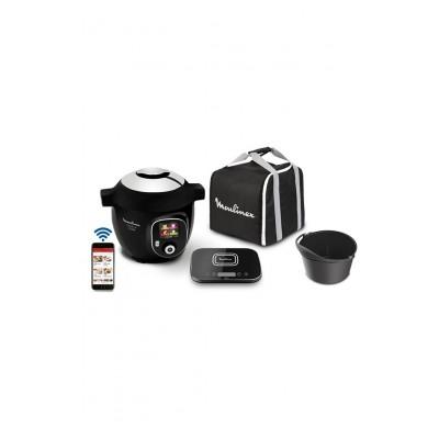 Moulinex Cookéo+ Kit Méga Connect Noir 200  recettes YY4403FB