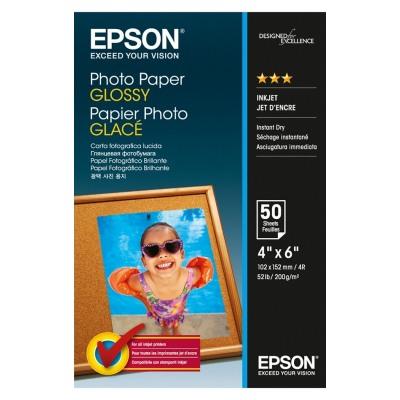 Epson Papier Photo Glacé 200g 10x15