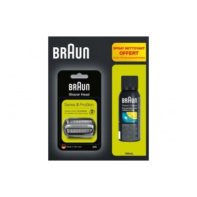 Braun 32B+spray nettoyant