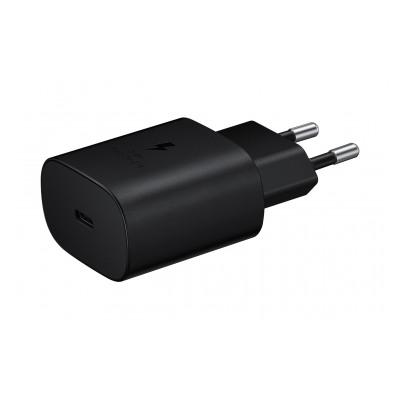 Samsung Chargeur secteur RAPIDE 25W, Port USB Type C Noir