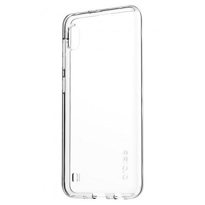 Samsung Coque arriere Designed for SAMSUNG Galaxy A10 Transparent