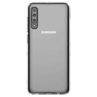 Samsung Coque arriere Designed for SAMSUNG Galaxy A70 Transparent