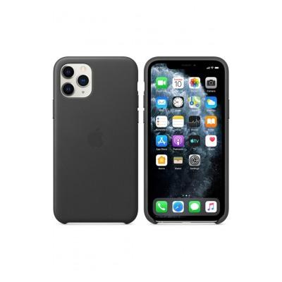 Apple Coque en cuir pour iPhone11Pro - Noir