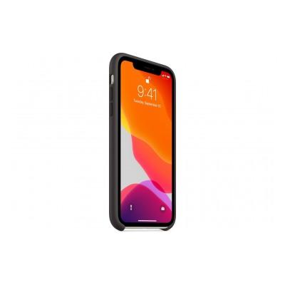 Apple Coque en silicone pour iPhone11 - Noir