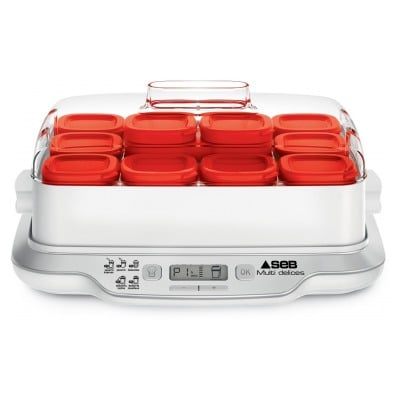 Seb YAOURTIERE MULTIDELICES EXPRESS 12 POTS ROUGE