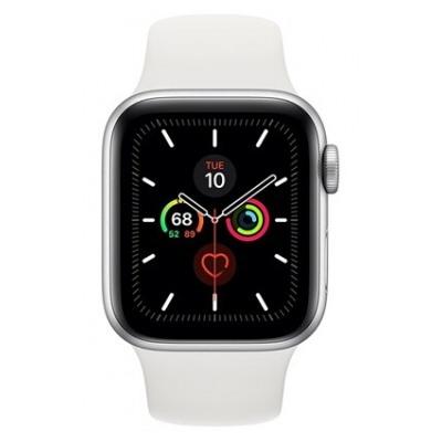 Apple Watch 44MM Alu Argent / Blanc  Series 5